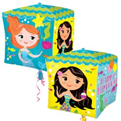 BIRTHDAY MERMAIDS CUBEZ G20 PKT