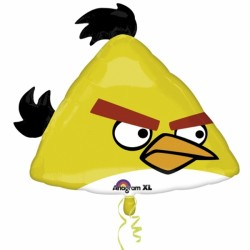 ANGRY BIRDS YELLOW BIRD SHAPE P38 PKT