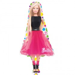 "BARBIE SPARKLE SHAPE P38 PKT (21"" x 42"")"