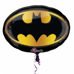 "BATMAN EMBLEM SHAPE P38 PKT (27"" x 19"")"