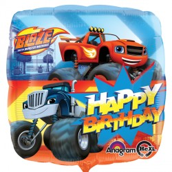 BLAZE & THE MONSTER MACHINES HAPPY BIRTHDAY STANDARD S60 PKT
