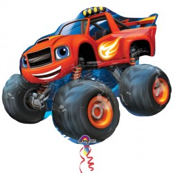 "BLAZE & THE MONSTER MACHINES SHAPE P38 PKT (34"" x 28"")"