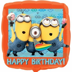 MINIONS HAPPY BIRTHDAY STANDARD S60 PKT
