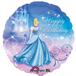 DISNEY PRINCESS CINDERELLA HAPPY BIRTHDAY STANDARD S60 PKT