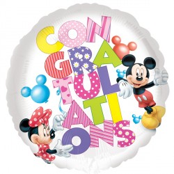 MICKEY MOUSE CONGRATULATIONS STANDARD S60 PKT