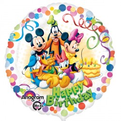 MICKEY MOUSE & FRIENDS PARTY BIRTHDAY STANDARD S60 PKT