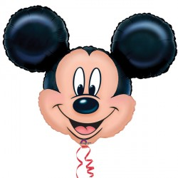 "MICKEY MOUSE HEAD SHAPE P38 PKT (27"" x 21"")"