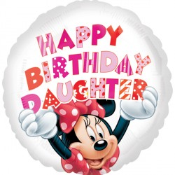 MINNIE MOUSE HAPPY BIRTHDAY DAUGHTER STANDARD S60 PKT