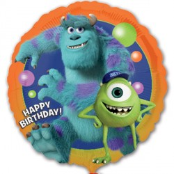 MONSTERS UNIVERSITY BIRTHDAY STANDARD S60 PKT