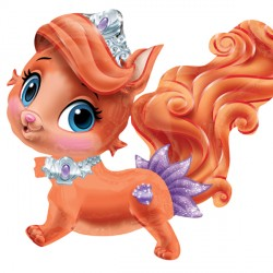 DISNEY PRINCESS ARIEL'S KITTY BALLOON BUDDIES AIRWALKER P60 PKT