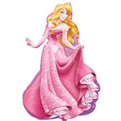 "DISNEY PRINCESS SLEEPING BEAUTY SHAPE P38 PKT (23"" x 34"")"