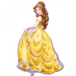 "DISNEY PRINCESS BELLE SHAPE P38 PKT (24"" x 39"")"