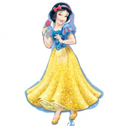 "DISNEY PRINCESS SNOW WHITE SHAPE P38 PKT (24"" x 37"")"