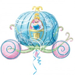 DISNEY PRINCESS CINDERELLA CARRIAGE SHAPE P38 PKT