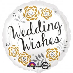 WEDDING WISHES STANDARD S40 PKT