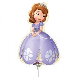 SOFIA THE FIRST POSE MINI SHAPE A30 INFLATED WITH CUP & STICK
