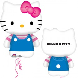 HELLO KITTY SUMMER FUN KITTY SHAPE P38 PKT