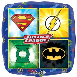 JUSTICE LEAGUE EMBLEMS STANDARD S60 PKT