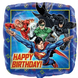 JUSTICE LEAGUE HAPPY BIRTHDAY STANDARD S60 PKT