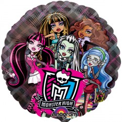 "MONSTER HIGH 26"" SEE-THRU SHAPE P30 PKT"