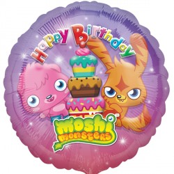 "MOSHI MONSTER HAPPY BIRTHDAY 18"" SALE"