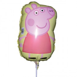 PEPPA PIG MINI SHAPE A30 INFLATED WITH CUP & STICK