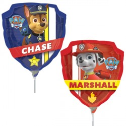 PAW PATROL MINI SHAPE A30 INFLATED WITH CUP & STICK