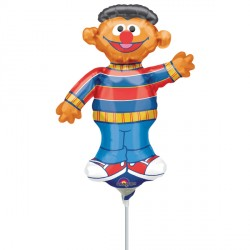 SESAME STREET ERNIE MINI SHAPE A30 INFLATED WITH CUP & STICK