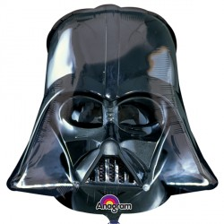 STAR WARS DARTH VADER HELMET BLACK SHAPE P38 PKT