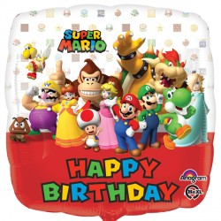 SUPER MARIO HAPPY BIRTHDAY STANDARD S60 PKT