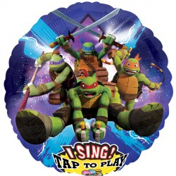 TEENAGE MUTANT NINJA TURTLES JUMBO SING A TUNE P75 PKT