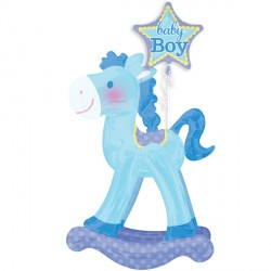 ROCKING HORSE BLUE AIRWALKER P93 PKT