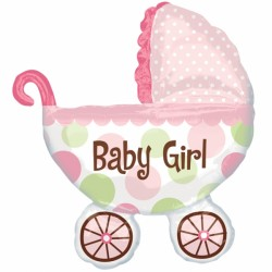 BABY BUGGY GIRL SHAPE P35 PKT