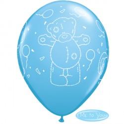 "TATTY TEDDY BALLOONS 11"" PALE BLUE (6X6CT)"