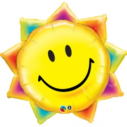 "SUNSHINE SMILE FACE 35"" SHAPE GROUP C PKT"