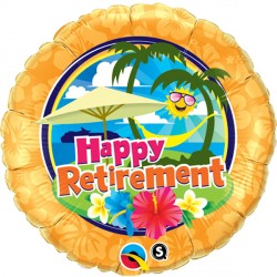 "RETIREMENT SUNSHINE 18"" PKT IF"