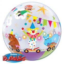 "CIRCUS PARADE 22"" SINGLE BUBBLE"