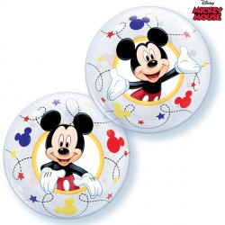 "MICKEY MOUSE 12"" AIR-FILLED BUBBLE (10CT)"