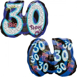 OH NO! IT'S MY BIRTHDAY 30 SHAPE P35 PKT