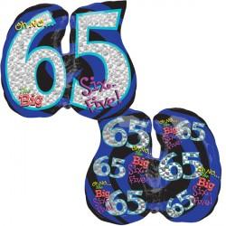 OH NO! IT'S MY BIRTHDAY 65 SHAPE P35 PKT