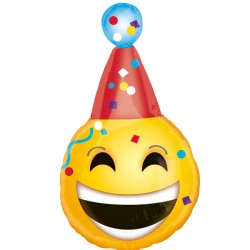 B DAY EMOJI JUNIOR SHAPE S40 PKT