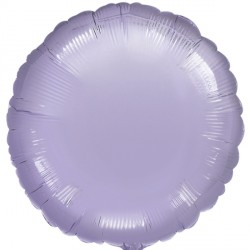 PEARL PASTEL LILAC METALLIIC ROUND STANDARD S15 FLAT A