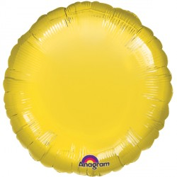 YELLOW METALLIIC ROUND STANDARD S15 FLAT A