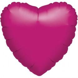 FUCHSIA METALLIC HEART STANDARD S15 FLAT A