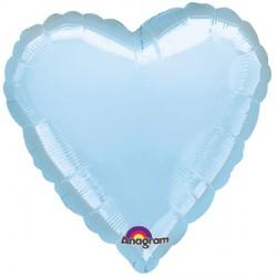 PEARL PASTEL BLUE METALLIC HEART STANDARD S15 FLAT A