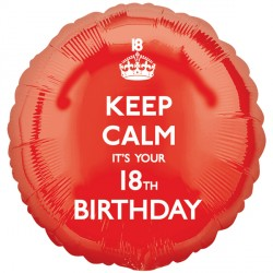 KEEP CALM IT'S YOUR 18TH BIRTHDAY STANDARD S40 PKT