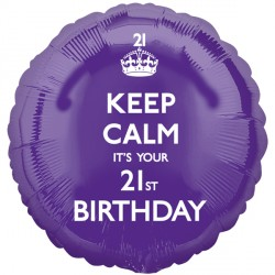 KEEP CALM IT'S YOUR 21ST BIRTHDAY STANDARD S40 PKT