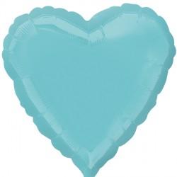 ROBIN'S EGG BLUE HEART STANDARD S15 FLAT A