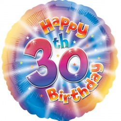 HAPPY 30TH BIRTHDAY STANDARD HS40 PKT