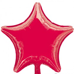 RED METALLIC STAR STANDARD S15 FLAT A